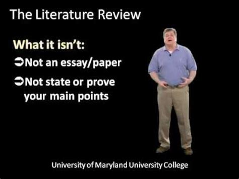 How to critically evaluate a literature review